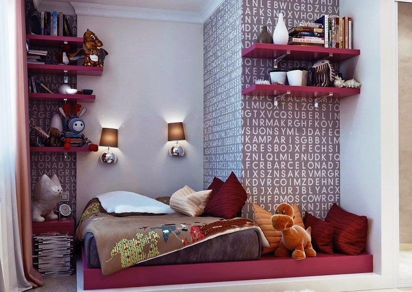 Декор маленькой комнаты своими руками фото 98